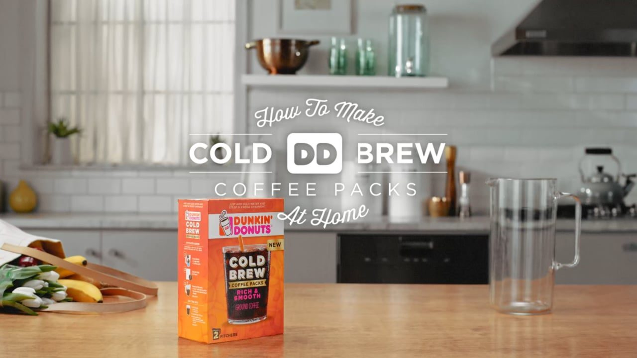 Dunkin Donuts: Cold brew at home